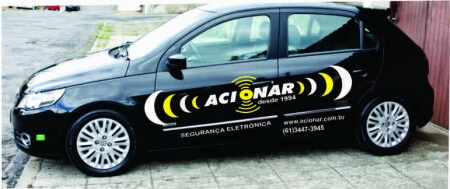 Imagem do serviço de envelopamento de veículo acionar