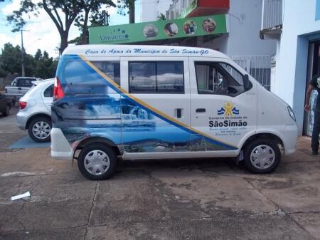 Imagem de serviço de envelopamento de veículo São Simão